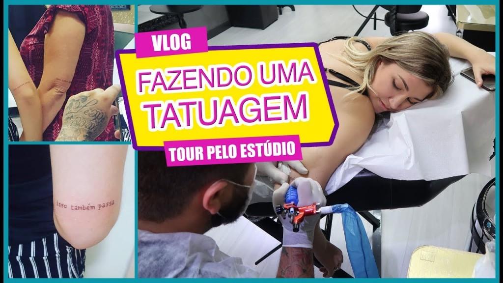 Gaby Garciia Vlog Fazendo Tattoo E Tour Pelo Studio Santa